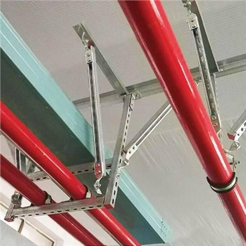 组合管双向抗震支吊架